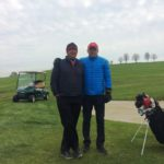 Organizátor a kapitán Teaching Pro Jan Juhaniak s partnerem turnaje