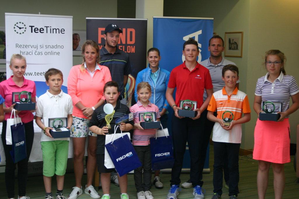 Vítězové Czech PGA Junior Tour 2017 / Austerlitz