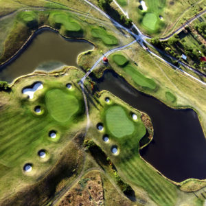 Dějiště zahajovacího turnaje Moneta Czech PGA Tour -Austerlitz Golf Resort