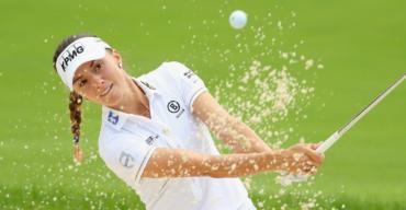 Klára Spilková na KPMG Womens PGA Championship v Olympia Fields Country Club