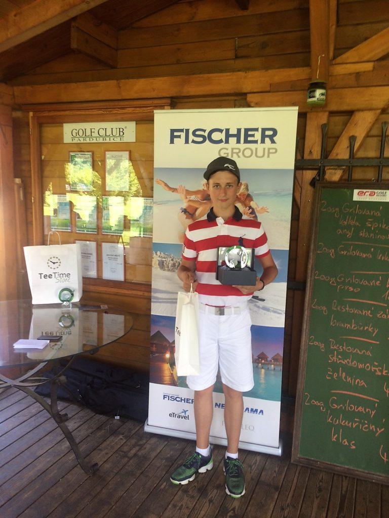 Jakub Hejlek - vítěz v kategorii 11-12 let chlapci