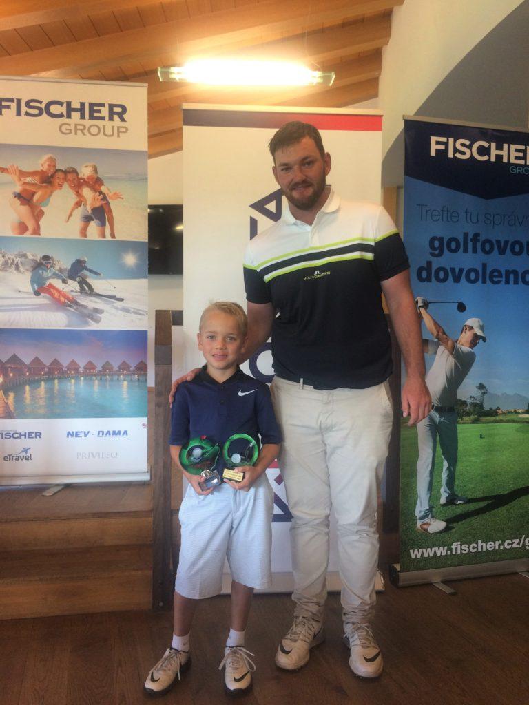 Nicolas Novák - Absolutní vítěz Czech PGA Junior Tour 2017 v Ropici