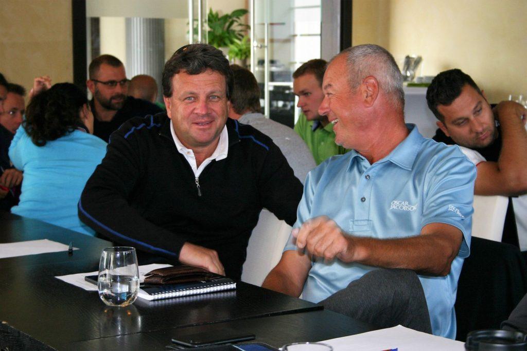 Petr Štrougal a Jan Juhaniak