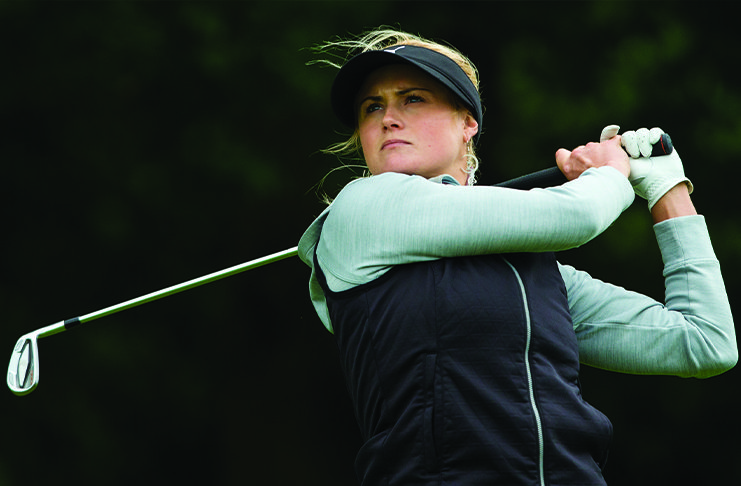 Carly Booth. Autor: Tipsport Czech Ladies Open.