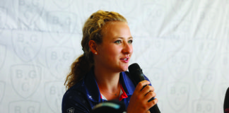 Sára Kousková. Autor: Tisport Czech Ladies Open.