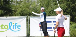 Atthaya Thitikul. Foto: Anna Krčmářová, Tipsport Czech Ladies Open.
